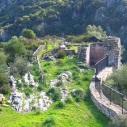 L'antico castello di Medusa in Sardegna